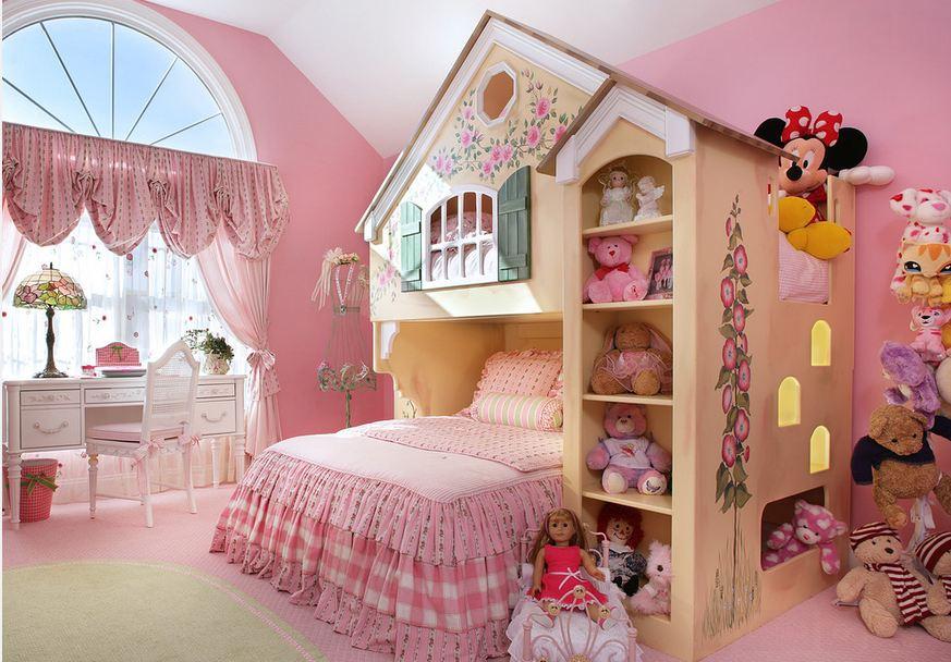 Дизайн детской комнаты для девочки своими руками экономно