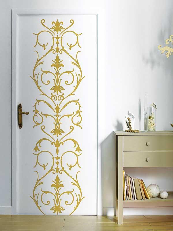 Декор межкомнатных дверей своими руками