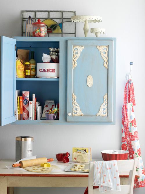 Как декорировать кухонный шкаф