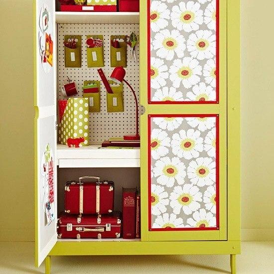 Декор своими руками шкаф