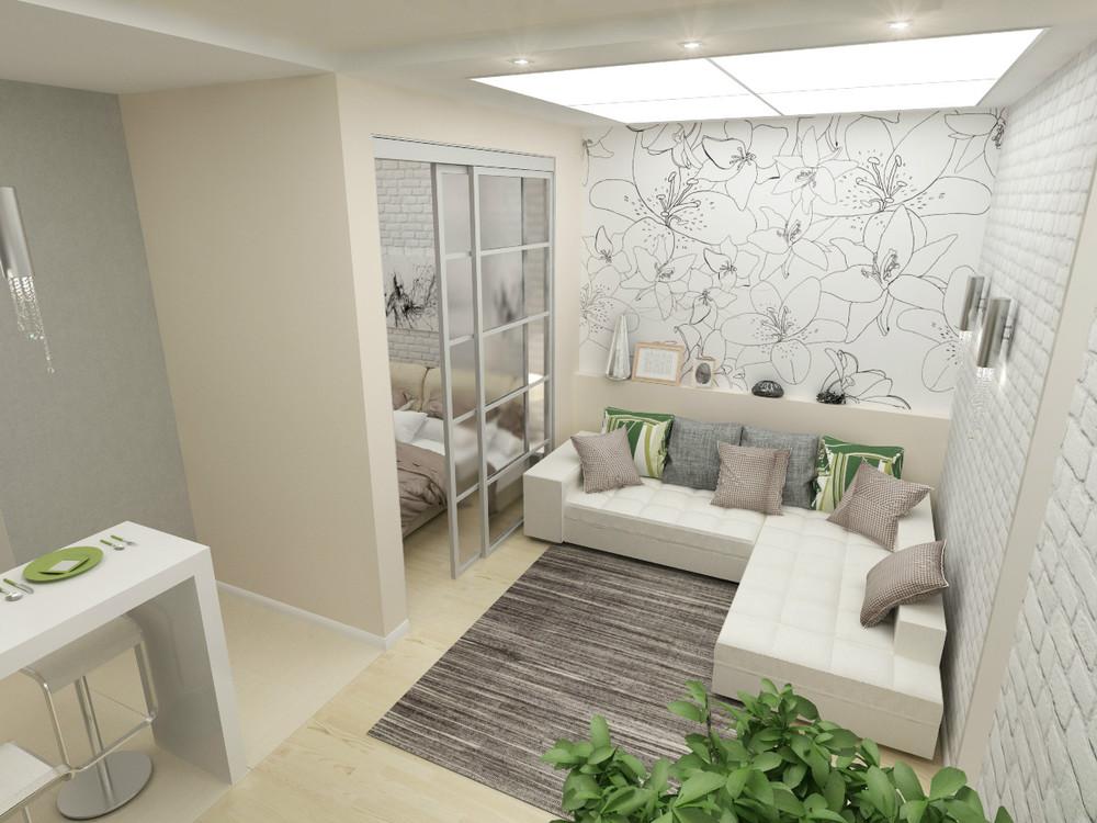 Дизайн квартиры 45 кв.м фото для семьи