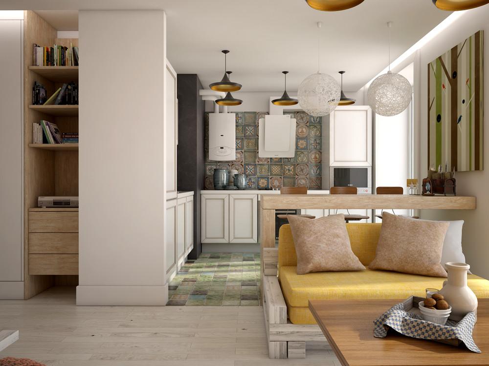 дизайн студии интерьера квартиры 11