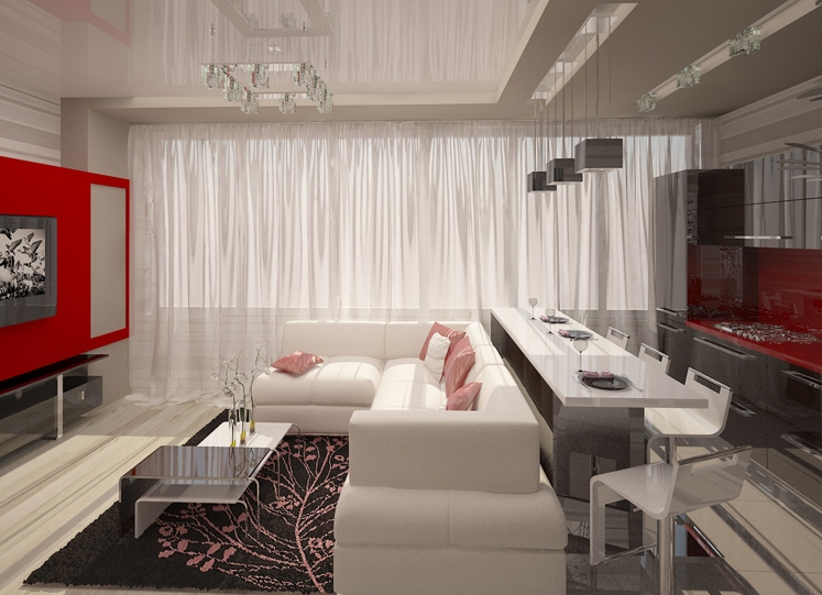 Квартира 43 кв.м. дизайн