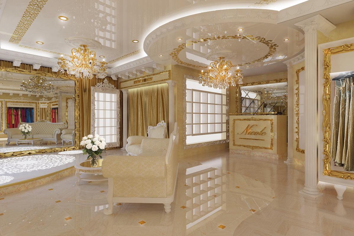 Проект дизайна свадебного салона