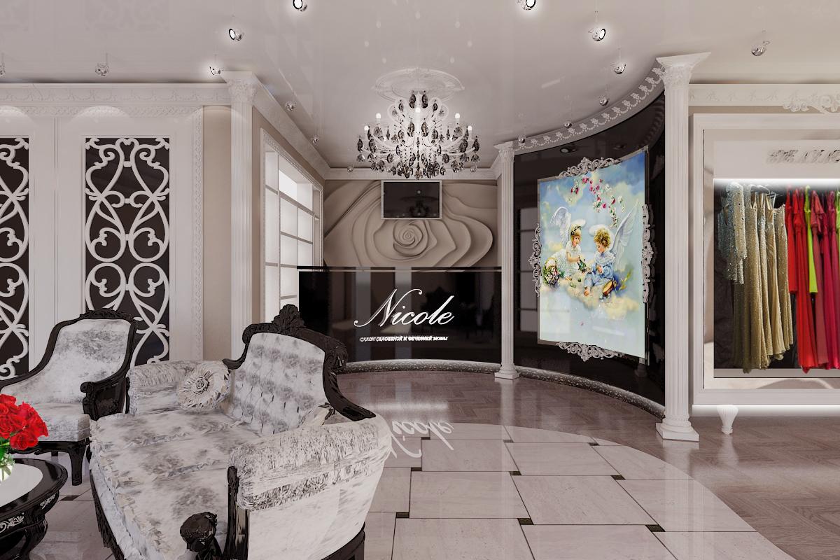 Дизайн свадебного салона