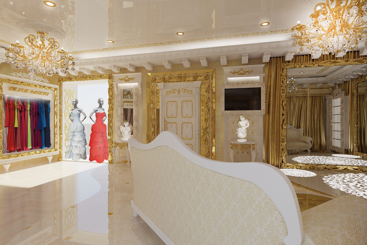 Интерьер свадебного салона