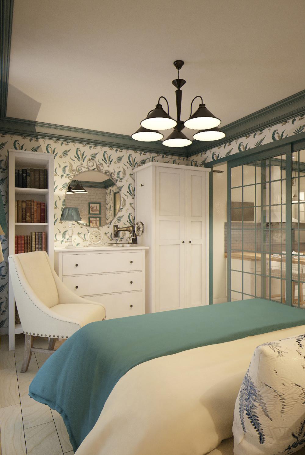 Интерьер маленькой квартиры в стиле лофт
