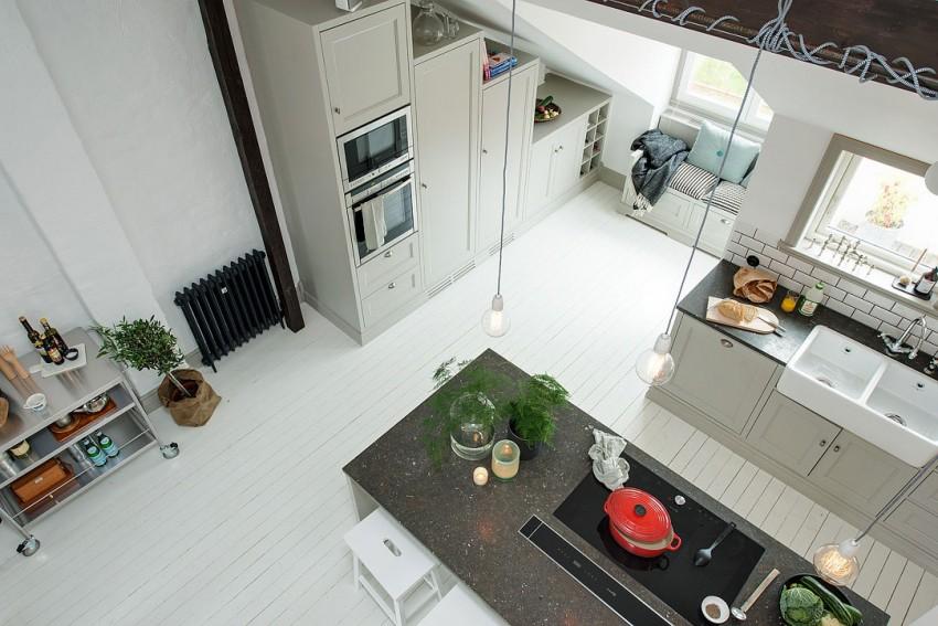 Квартира с мансардой фото
