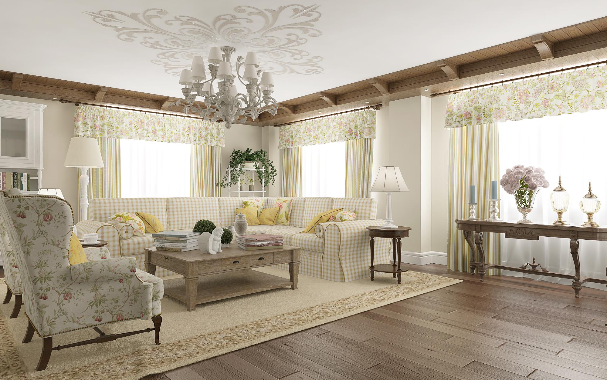 Интерьеры в стиле прованс в квартире