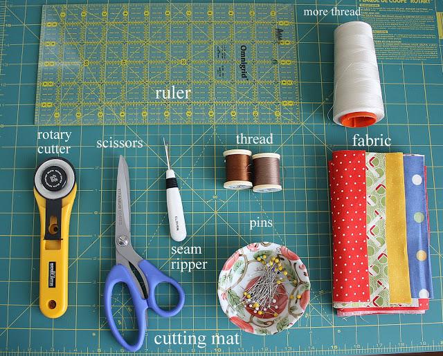 Материалы для шитья для начинающих