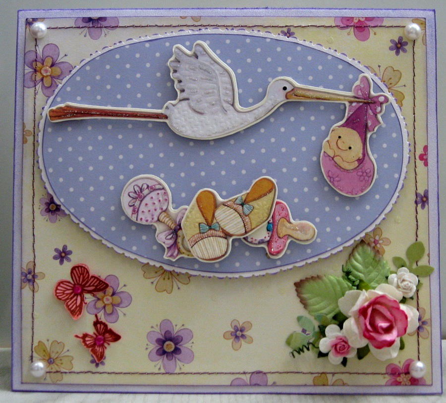 Открытки для новорожденных скрапбукинг