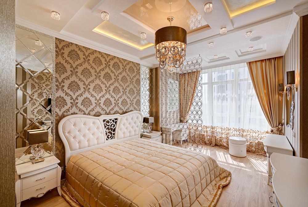 спальни в стиле арт деко фото