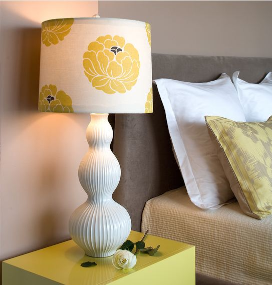 Зеленая настольная лампа своими руками 31