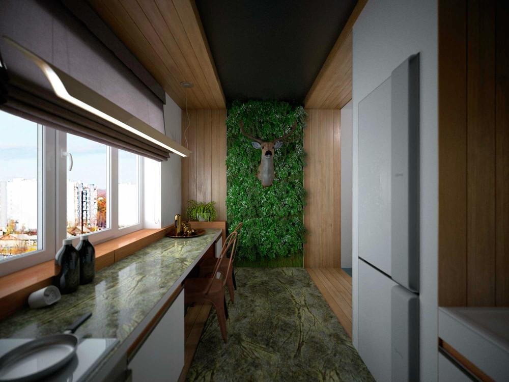 Вертикальное озеленение в интерьере