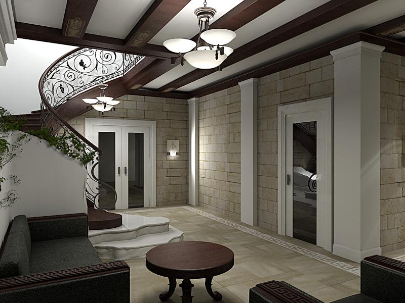 Дизайн античном стиле