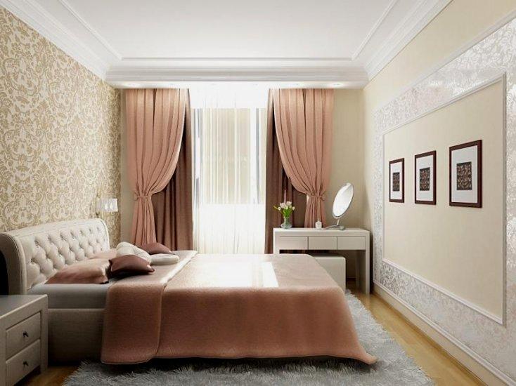 Дизайн спальни классический стиль