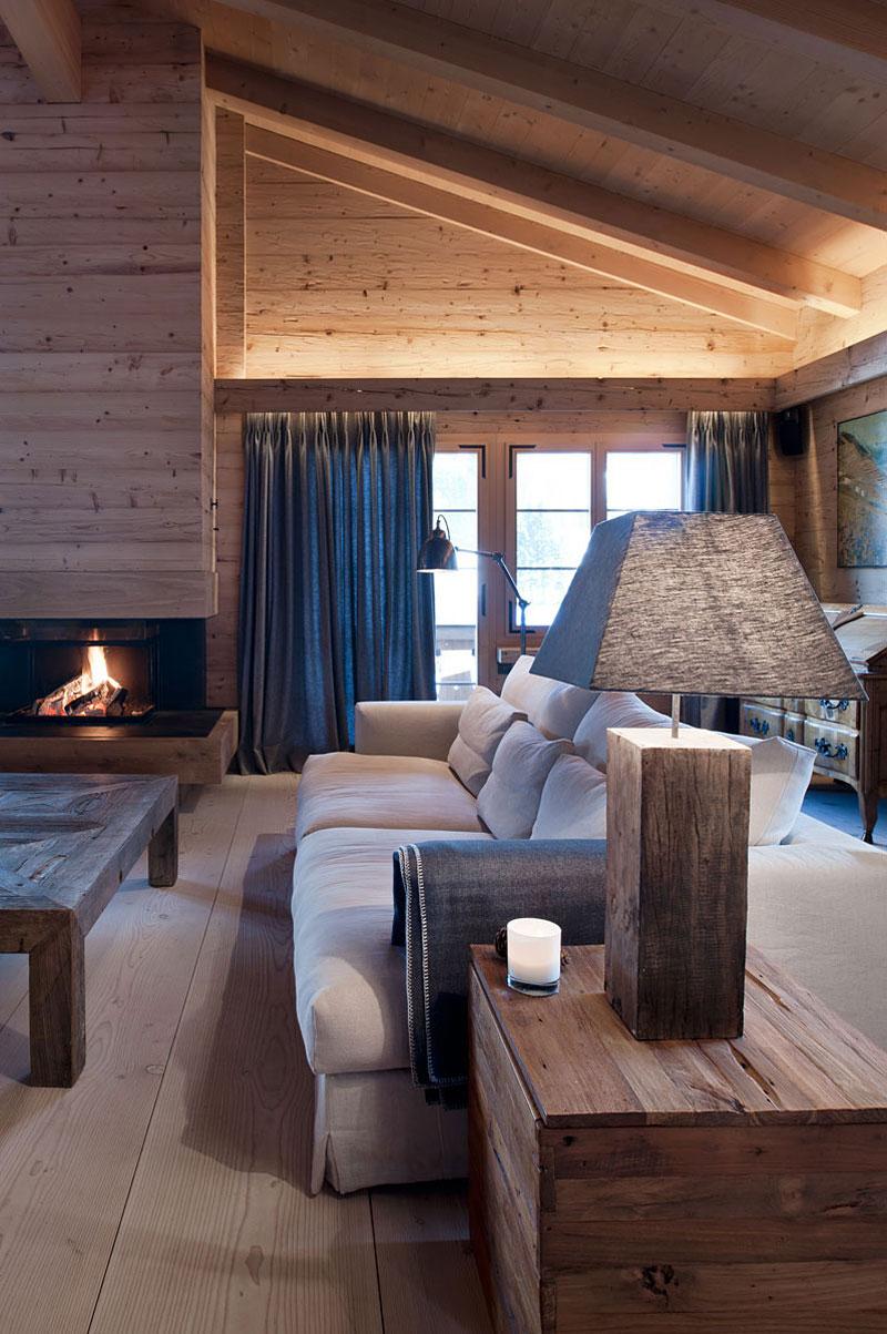 255Фото дизайн интерьера дома из клееного бруса