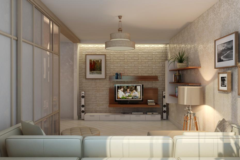 Дизайн квартиры 70 кв.м