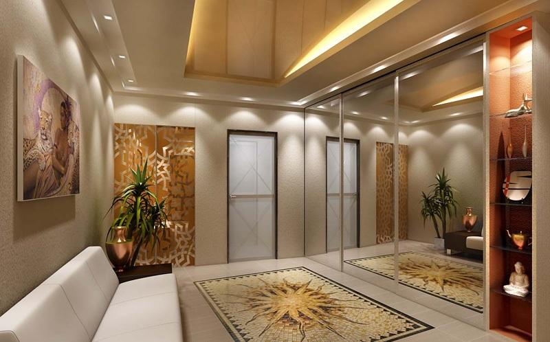 Зеркало для коридора в интерьере