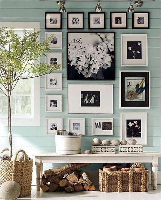 Коллаж фото на стену