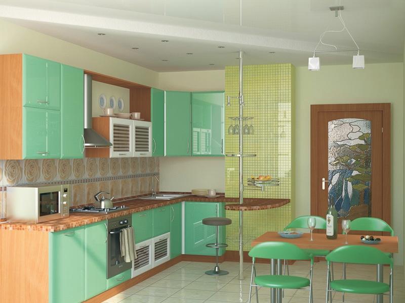 дизайн кухни 14 кв м фото с балконом