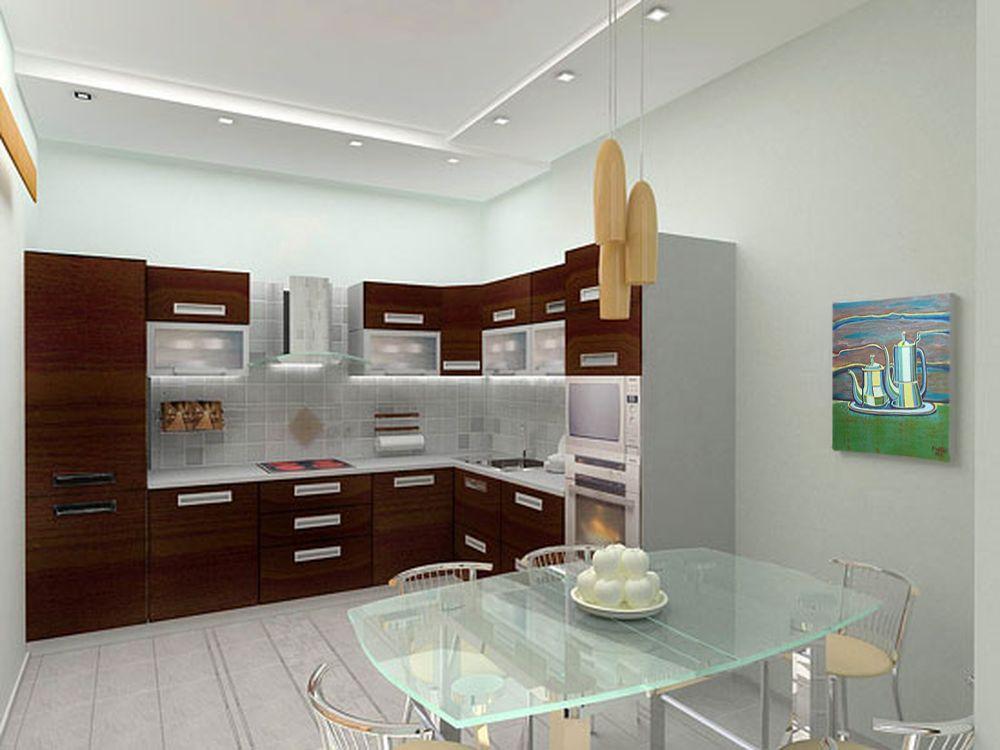 Дизайн кухни 3.5 на 3.5