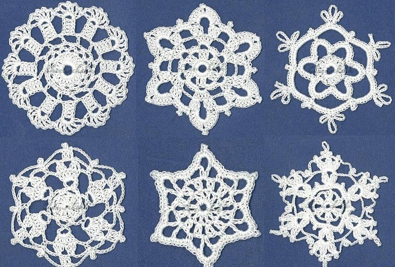 схему вязания салфетки