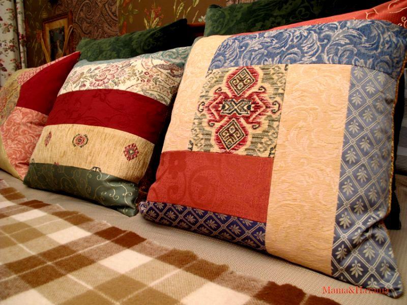 Наволочки на диванные подушки мастер класс
