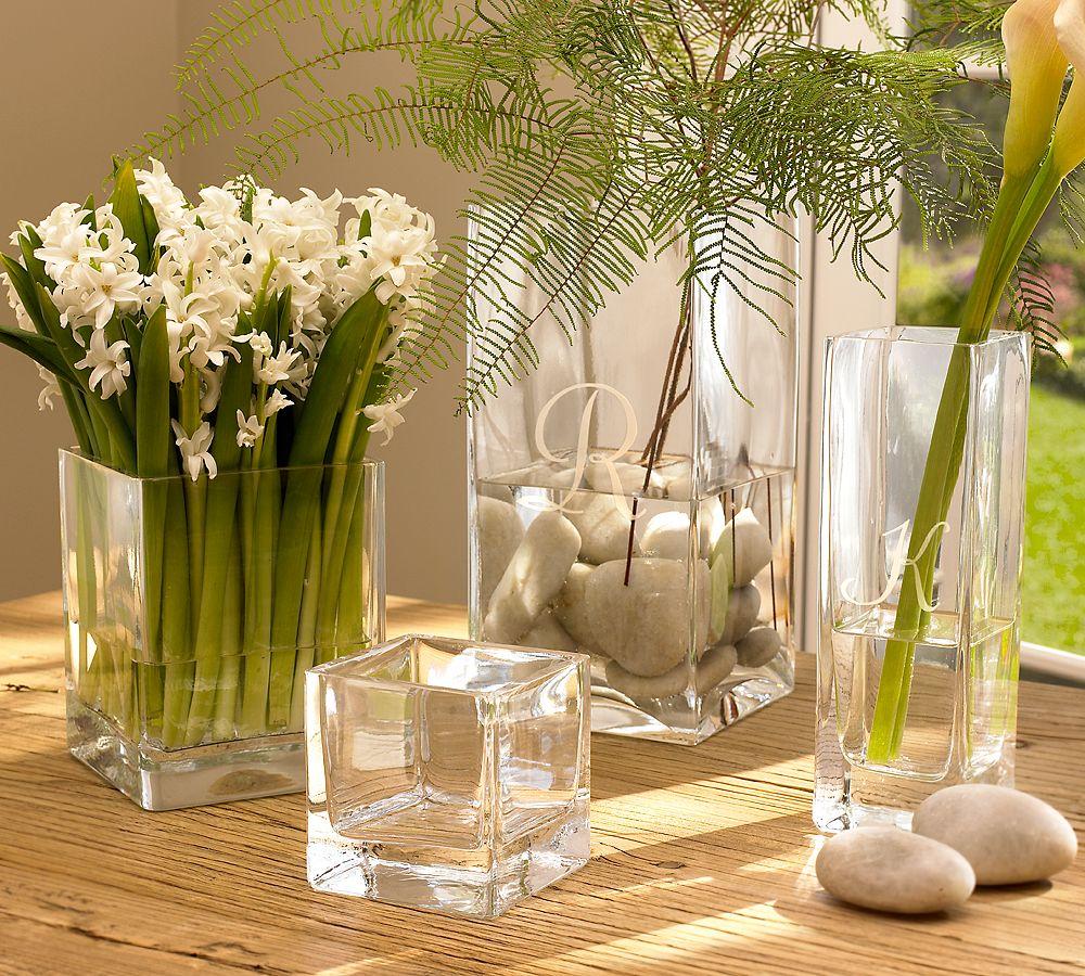Декор с вазами и цветами фото