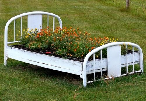 Декор огорода своими руками фото