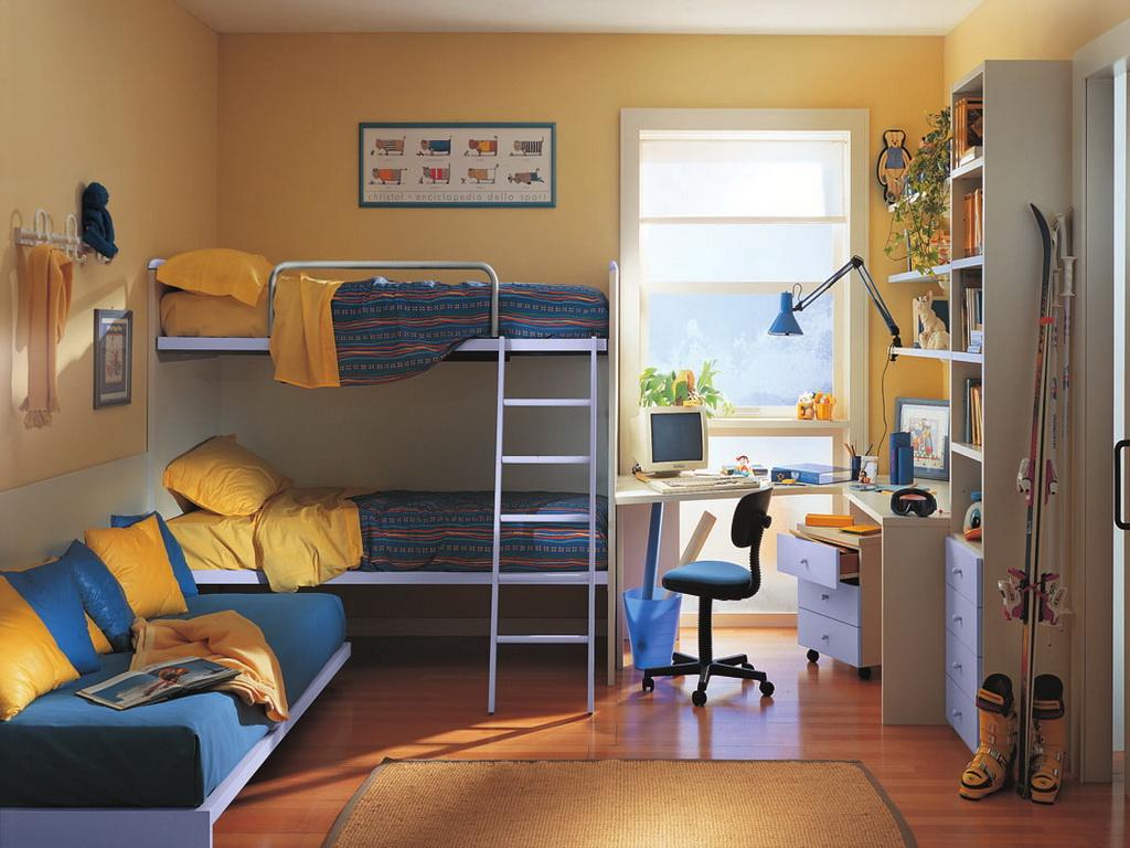 Оформление комнат для подростков фото