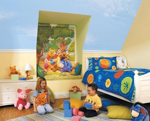 детская комната 12 метров