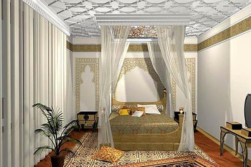 дизайн узких спален