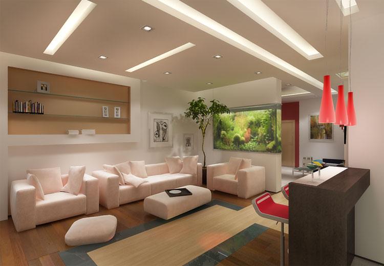 Создание интерьера гостиной