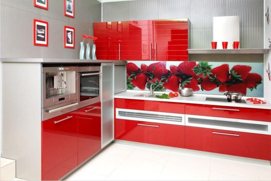 Интерьер кухни фартук