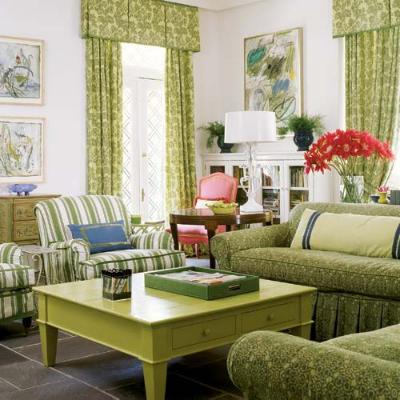 Французский интерьер гостиной