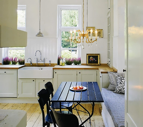 светлые кухни