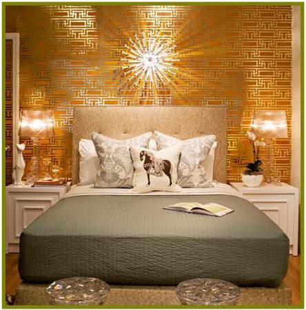спальня золотая