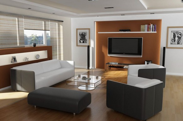 Телевизор для гостиной интерьер фото
