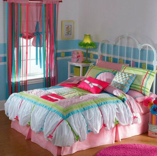 дизайн штор для спальни