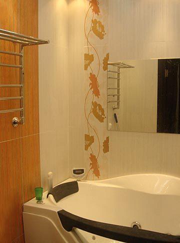 Дизайн узкой ванной комнаты можно