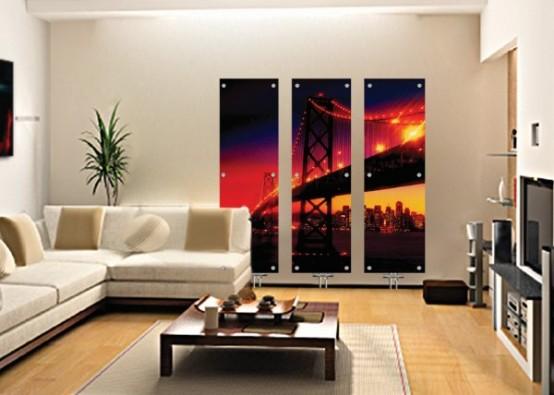 Художественные стеклянные радиаторы