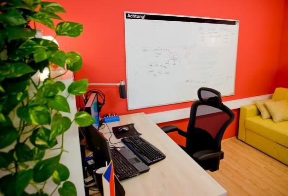 современный интерьер офиса, фото