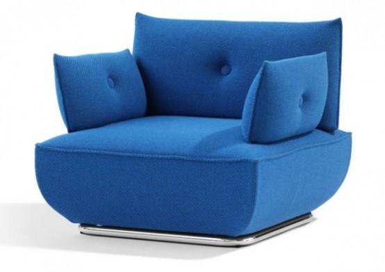 модульное кресло и диван