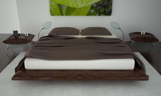дизайн спальни +в стиле модерн