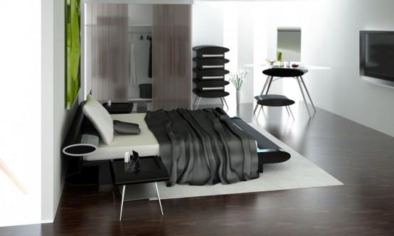 спальни модерн, фото