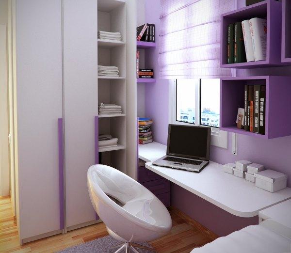 Дизайн комнаты 8 кв.м.