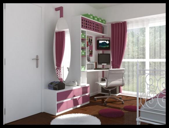 комната для подростка девочки