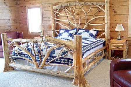 дизайн спальни кантри
