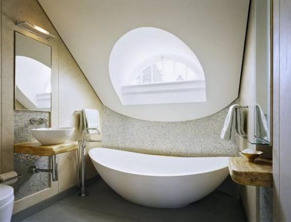 Американский интерьер ванны
